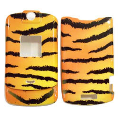 Hard Plastic Snap On Cover Fits Motorola V3 V3A V3C V3M V3I V3T Razr Tiger Skin At&T,T-Mobile, Cricket, Cingular, Amp Mobile, Metropcs, Sprint, Us Cellular, Verizon, At&T (Please Carefully Check Your Device Model To Order The Correct Version.)
