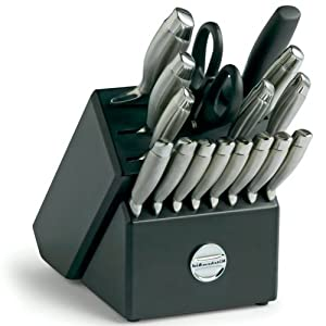 Kitchenaid 18 Pc Cutlery Set Block Knife Sets Kitchen Dining