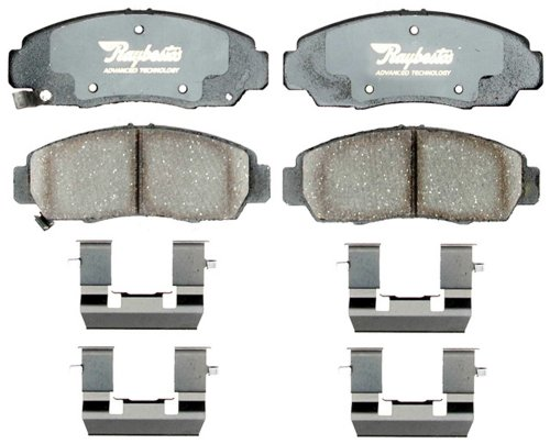 Raybestos ATD787C Advanced Technology Ceramic Disc Brake Pad Set