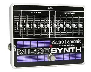 Electro-Harmonix Micro Synthesizer XO Analog Guitar Microsynth by Electro-Harmonix