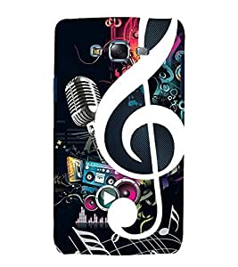 printtech Music Abstract design Back Case Cover for Samsung Galaxy Grand Prime G530h