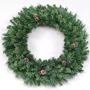42 Cheyenne Pine With Cones Artificial Christmas Wreath - Unlit