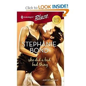 She Did a Bad, Bad Thing - Stephanie Bond