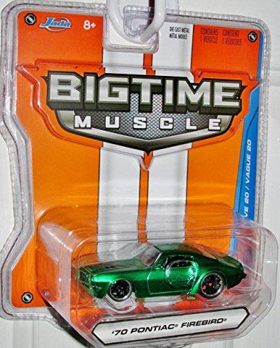 2015 Jada 1:64 Bigtime Muscle '70 Pontiac Firebird Green #016 - 1