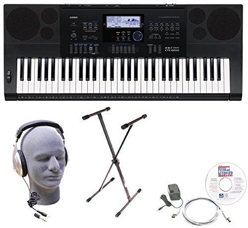 [해외]전원 공급 장치와 카시오 (61) - 키 개인 키보드/Casio 61-Key Personal Keyboard with Power Supply
