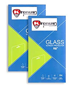 Kronus 2.5D Curve Edged (Pack of 2) Tempered Glass Screen Protector for Micromax Yu Yureka