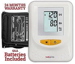Healthgenie BP Monitor digital Upper arm BPM 01 Automatic - 24 MONTHS WARRANTY