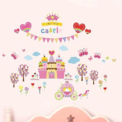 ninos-habitacion-de-dibujos-animados-del-castillo-de-la-fantasia-pegatinas-de-construccion-de-vivero