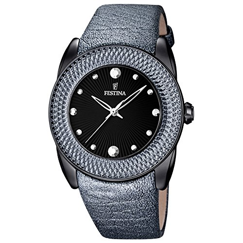Festina de mujer reloj de pulsera Dream analógico de cuarzo piel F16591/D