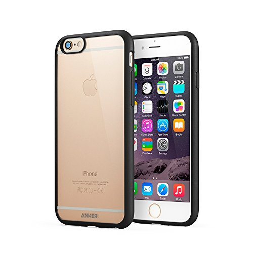 【Amazon.co.jp限定】 Anker® 4.7インチ iPhone 6用 ウルトラスリムバンパーケース 丸みのあるバンパーと硬度5Hのクリアバックカバー 【18ヶ月保証】