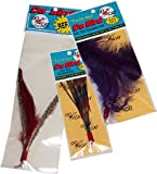 Da Bird Super Pack (Includes 1 Da Bird Original 36″ Single Pole Cat Toy, Feather Refill, Sparkly Attachment, Kitty Puff Attachment, and Peacock Feather)