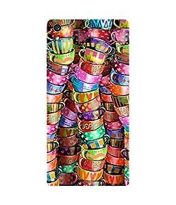 Colourful Cups Huawei Ascend P7 Case