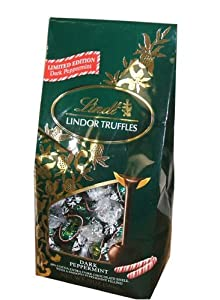 Lindt Lindor Dark Peppermint, 19 Ounce