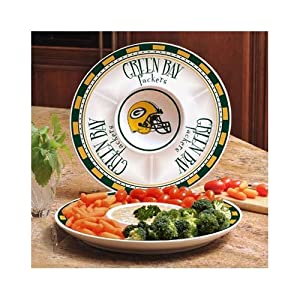 Buy Memory Company Green Bay Packers Game Day Chip and Dip Tray by The Memory Company