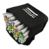 Finecolor Double Headed Sketch Marker Pen Painting Drawing Art Marker Highlighting and Underlining ( 60 colors )
