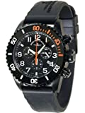 Zeno Ceramic Bezel PVD Swiss Quartz Chronograph with Sapphire Crystal 6492-TR-IPB-A1-5