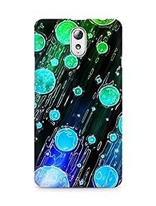 Amez designer printed 3d premium high quality back case cover for Lenovo Vibe P1M (Abstract Dark 39)