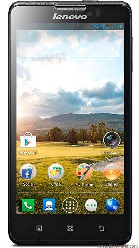 Lenovo P780 Quad-Core Dual Sim 4000mAh battery Long standby smartphone Phone Black Friday & Cyber Monday 2014