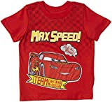 Disney Little Boys' Cars Graphic Tee (Toddler) - Red - 2T