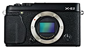 Fujifilm X-E2 16.3 MP Compact System Digital Camera with 3.0-Inch LCD - Body Only (Black)