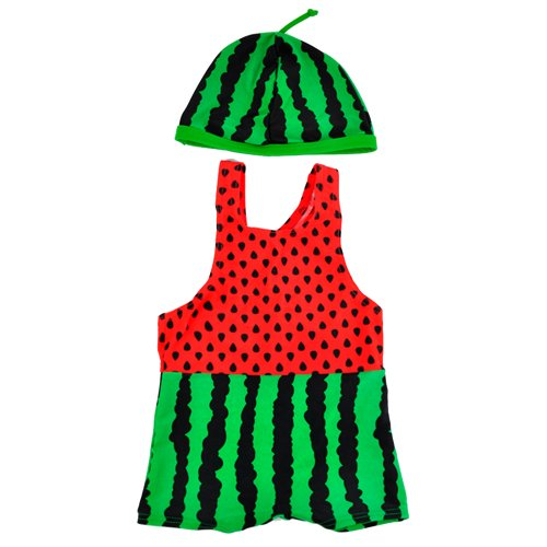 Watermelon Swimming Suit 2T Red [Misc.]