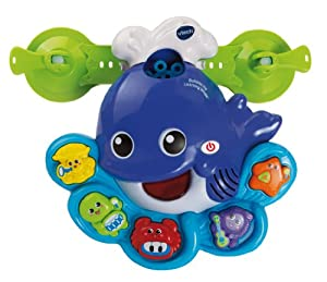 VTech Sing and Learn Whale Bubble Machine Bath Toy