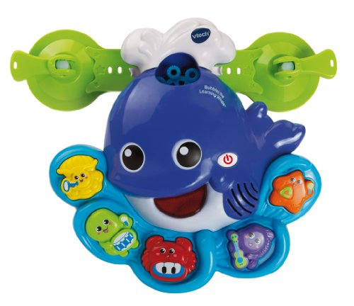 VTech Sing and Learn Whale Bubble Machine Bath Toy - 1