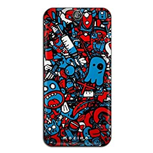 Mozine Ameoba In Love printed mobile back cover for HTC One A9