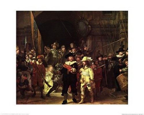 Comparamus Night Watch Poster By Rembrandt Van Rijn