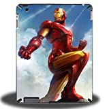 Marvel Iron Man Hard Protective Cases Covers for iPad 2/3/4 iMCA-CP-524 Apple i Pad Tablet PC Housing