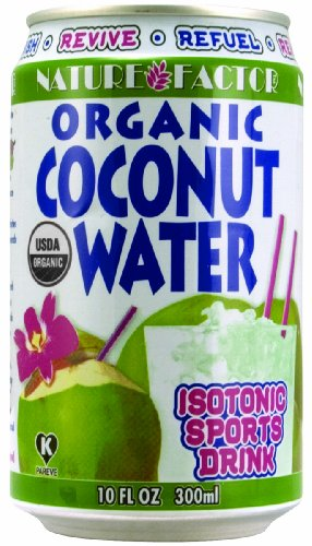 Nature Factor Organic Young Coconut Water 10oz