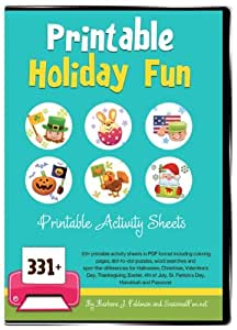Printable Holiday Fun