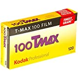 Kodak 857 2273 Professional 100 Tmax Black and White Negative Film 120 (ISO 100) 5 Roll Pack