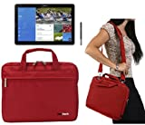 Navitech Red Ultrabook/ Laptop/ Notebook Case Cover Bag For The Samsung Galaxy Tab Pro 12.2 & Samsung Galaxy Note Pro 12.2