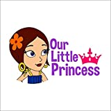 Chipakk Indumati Princess Crown Door Decal
