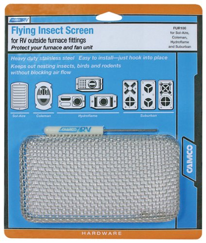 Camco 42140 Flying Insect Screen - FUR 100 (Rv Insect Covers compare prices)