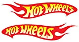 "Hot Wheels Racing Vinyl Decal Sticker Set of 2(2""x8"")"