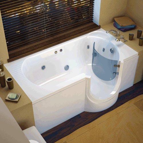 Sanctuary Full Bather Walk In Bathtub (30