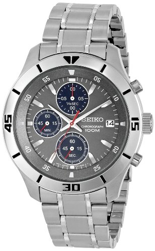 Seiko Men's SKS407 Stainless Steel Watch