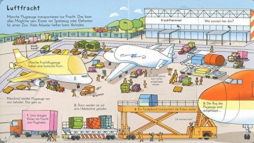 Aufklappen und Entdecken: Am Flughafen