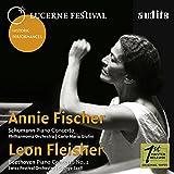 Schumann, Beethoven : Concertos pour piano. Fischer, Fleisher.