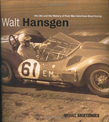 Walt Hansgen: His Life And The History Of Post-War American Road Racing front-74665
