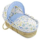 Clair de Lune Toy Shop Moses Basket (Palm)