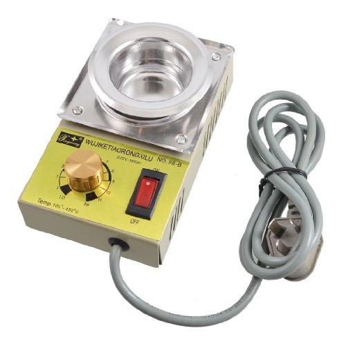 Amico Temperature Control 50mm Dia Bath AU 3 Pin Plug Solder Pot AC 220V 160W