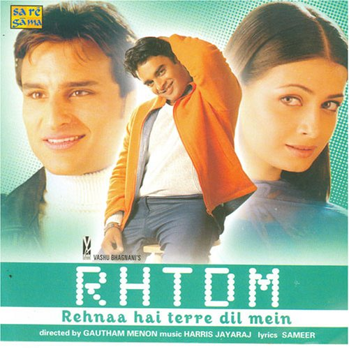 Rehnaa Hai Terre Dil Mein (2001) SL YT - Saif Ali Khan, Madhavan, Diya Mirza, Anupam Kher, Navin Nischol, Smita Jaykar, Hemant Pandey