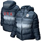 Nike 2010 Winter Olympics Team USA Ladies Navy Blue Medal Stand Puffer Down-Filled Jacket