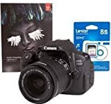CANON EOS 700D Black Camera Kit inc 18-55mm IS STM Lens 8GB SD Adobe Lightroom