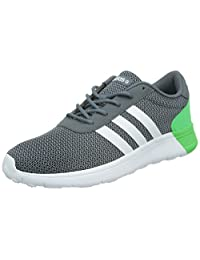 Adidas Men's Lite Racer, GREY/GREEN/WHITE