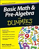 img - for Basic Math & Pre-Algebra For Dummies  (For Dummies (Math & Science)) book / textbook / text book