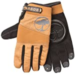 Arbor Signature 2012 Longboard Skateboard Slide Gloves With Pucks Camel Size S/M